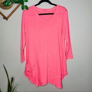 fresh produce Dresses - 🔥 SALE Fresh Produce Hot Pink Shift Dress